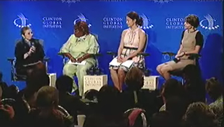 Panelists at the CGI Global Health working session