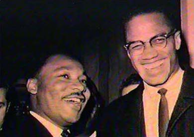 Martin Luther King, Jr and Malcolm X